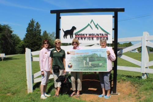 2017-07-07 Charitable Giving Smoky Mt. Dogs