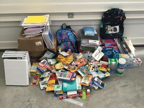 2020 08 22  Supplies for schools