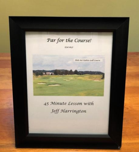 Par for the Course Jeff Harrington